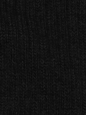 chaussette-chaude-laine-mohair-noir-detail