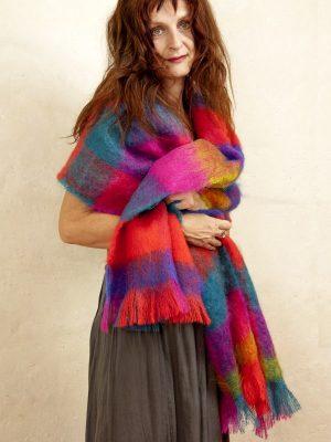 etole tissee laine mohair & soie