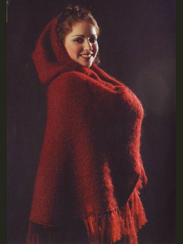 poncho laine, poncho femme laine