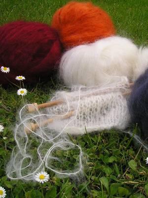 laines à tricoter de la Ferme d'Auré