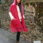 modele de tricot pour etole en laine mohair