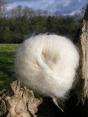 Laine mohair et soie rayon tricot