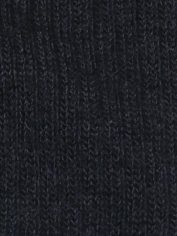 Chaussette chaude laine mohair gris détail maille