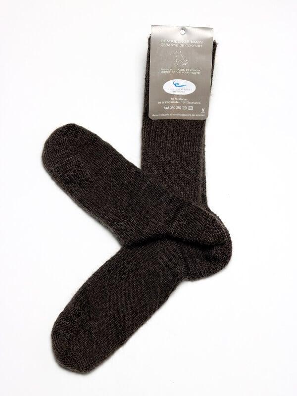 chaussettes-chaudes-laine-mohair-noir