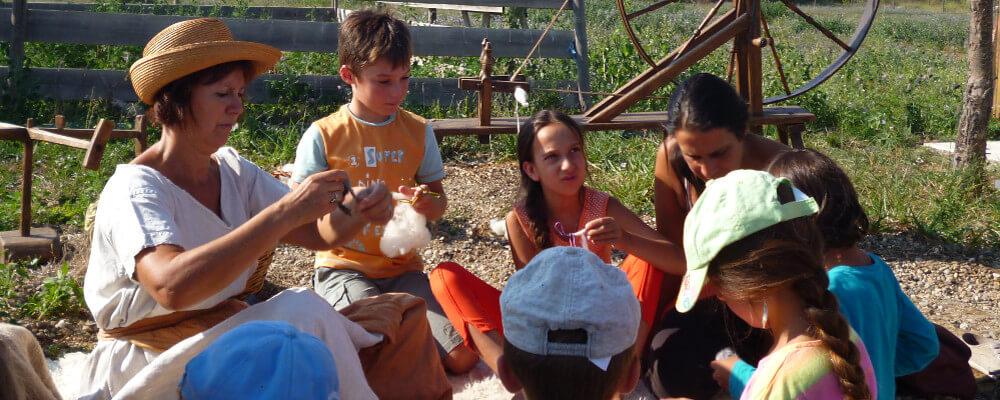 ferme a visiter herault - ferme d'auré