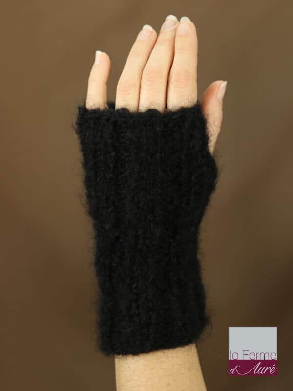 mitaines-laine-mohair-noir-dos-main