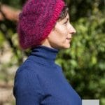 modele tricot mohair beret
