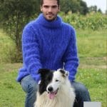 Modele tricot pull homme laine mohair - Cormier