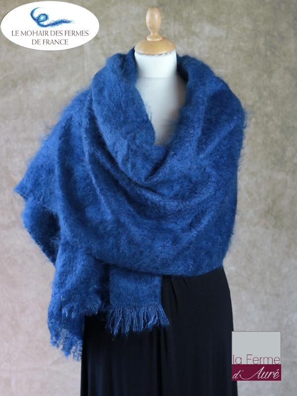 Etole Mohair de la Ferme d'Auré - Bleu Hollandais -1