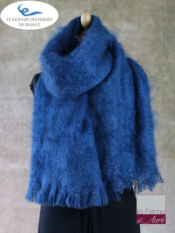 Etole Mohair de la Ferme d'Auré - Bleu Hollandais -2