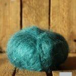 laine mohair col vert - mohair des fermes de france