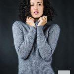 pull femme laine mohair et soie