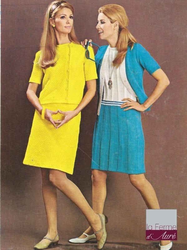 modele tricot vintage gratuit n°1