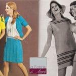 Modèles tricot Vintage : on m'a donné un trésor !