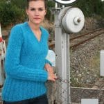 modele tricot pull mohair filaire