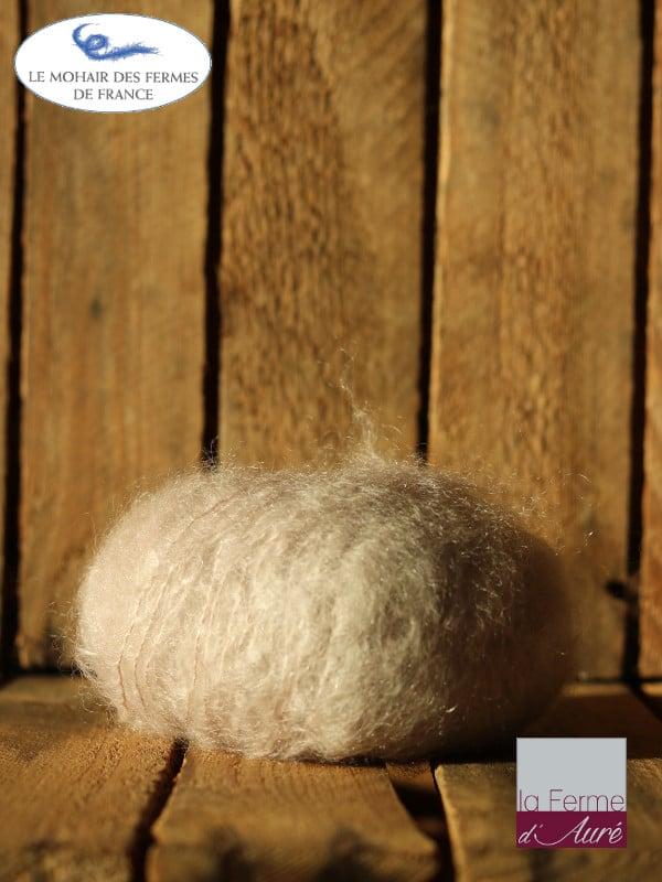laine mohair grege - Mohair des fermes de France